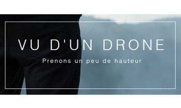 Vu d'un drone