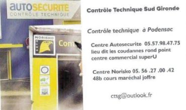 Contrôle Technique Sud-Gironde