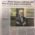 Denis Pernin, le Président, annonce son départ….