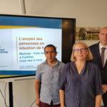 2Rives-Le club et l'Espace de coworking La Source accueillent APF France Handicap